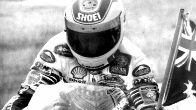 Australian motorcycle racer Wayne Gardner is one of the greats of Australian motorsport — a world champion at the high level.
