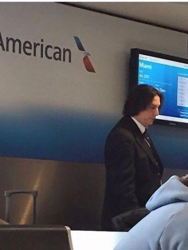 Did you know that Snape words for American Airlines? Well now you do. Picture: Imgur