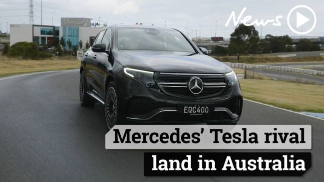 Mercedes' Tesla rival lands in Australia