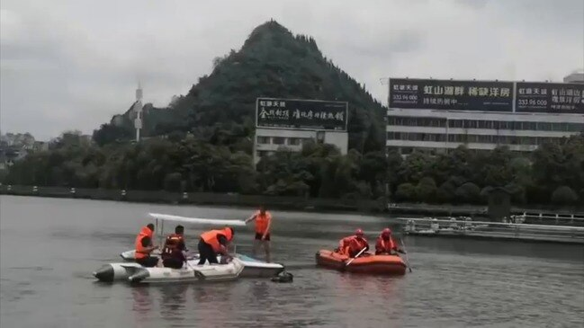 Bus in China Crashes Into Reservoir, Killing More Than 20