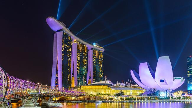 Melbourne apartment developments are starting to draw inspiration from Singapore, including the illustrious Marina Bay Sands.