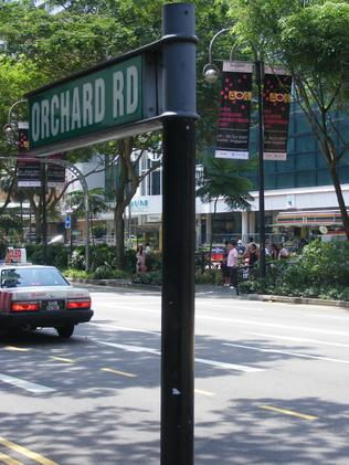 Orchard Rd, Singapore, centralises substantial shopping, hotel and residential spaces above the city's efficient MRT public transport system.