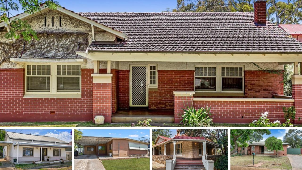 Five of the best renovators currently on the market in Adelaide.