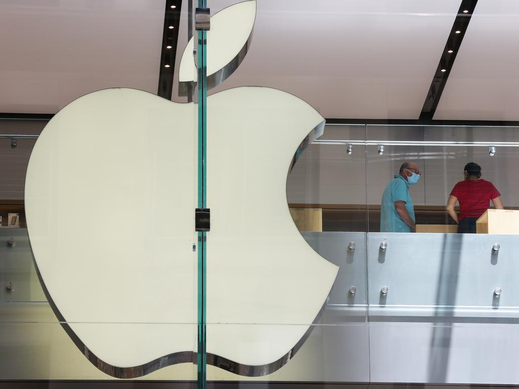 The mum said she didn't get much help from Apple. Picture: NCA NewsWire / Gaye Gerard