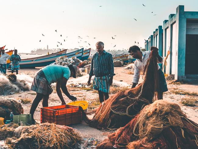 """YOUNG TRAVEL PHOTOGRAPHER OF THE YEAR 2019 (AGED 14 AND UNDER): DANIEL KURIAN, (INDIA/AUSTRALIA)  KOLLAM, KERALA, INDIA: """"The humble fishermen of Kerala were the real heroes of the 2018 Kerala flood rescue mission."""" Picture: Daniel Kurian/tpoty.com"""