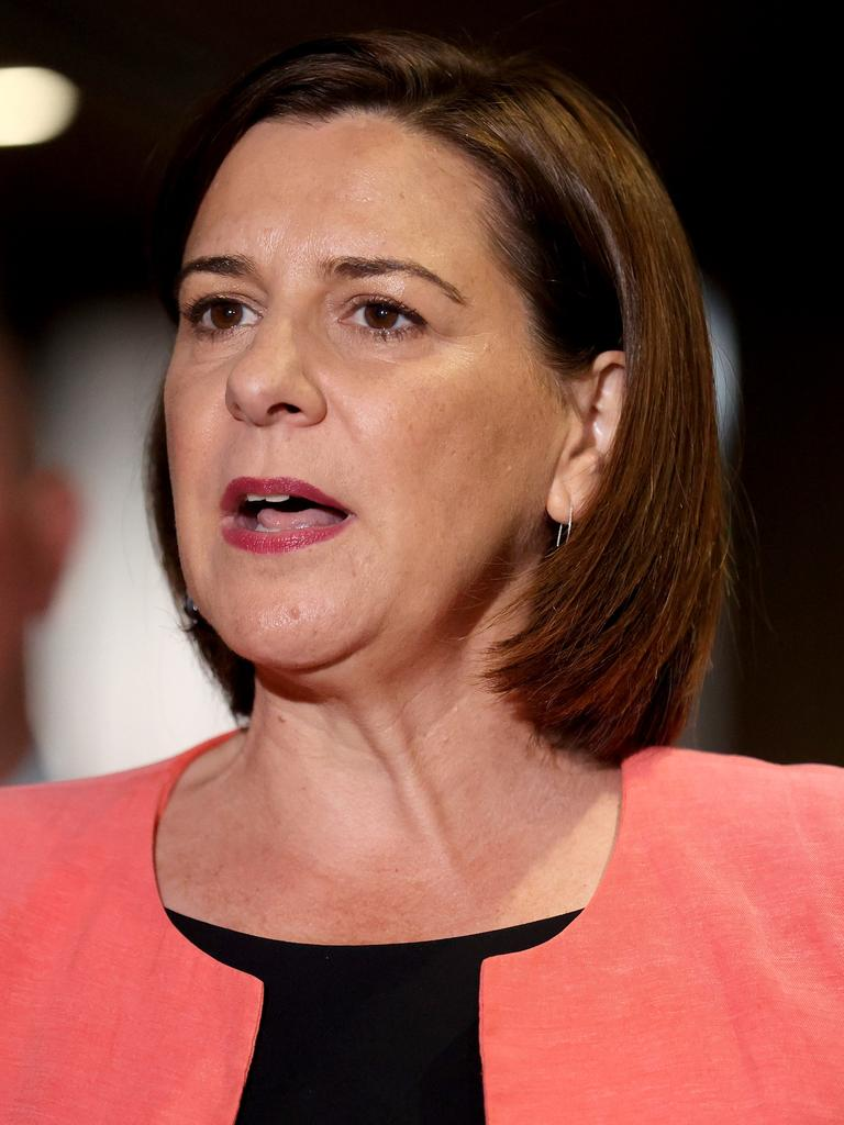 Queensland Opposition Leader Deb Frecklington. Picture: NCA NewsWire/Sarah Marshall