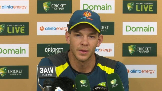 Tim Paine's son didn't give any indication of whether the Aussies should bat or bowl so it's up to the captain