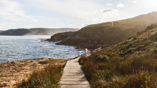 Scenic coastal views from Bouddi National Park, Bouddi. Picture: Pacific Coast Tourism
