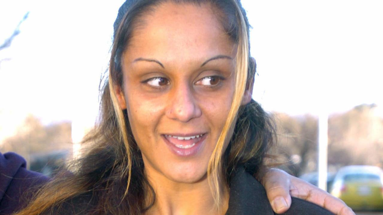 Anu after she was released on parole.