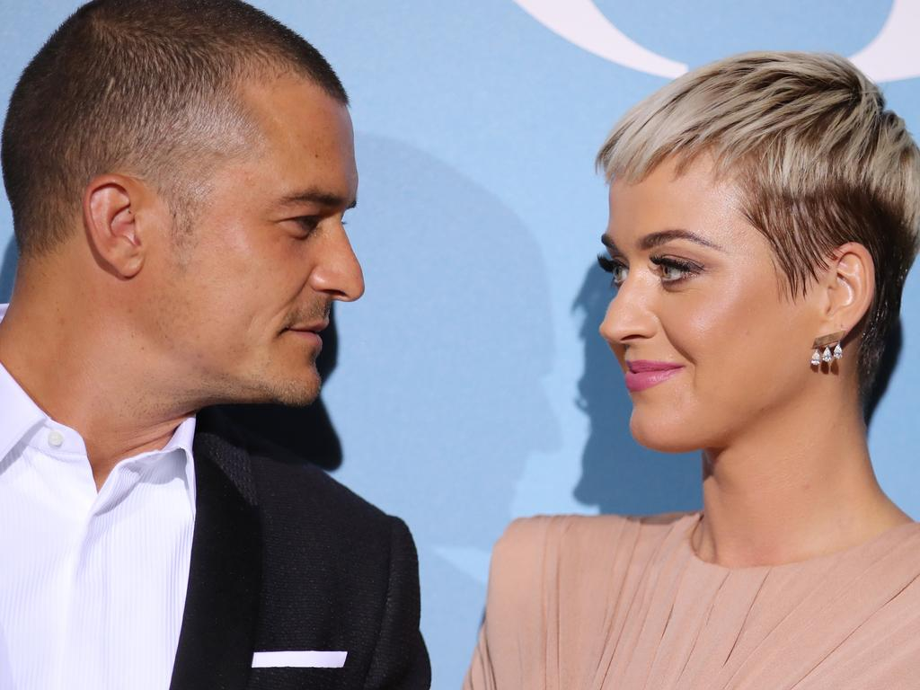 Orlando Bloom and Katy Perry;
