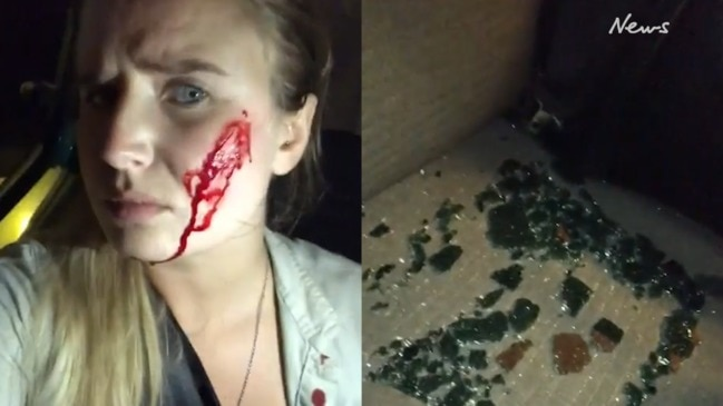 'I'm covered in blood': Vegan activist says she was shot at after rabbit raid