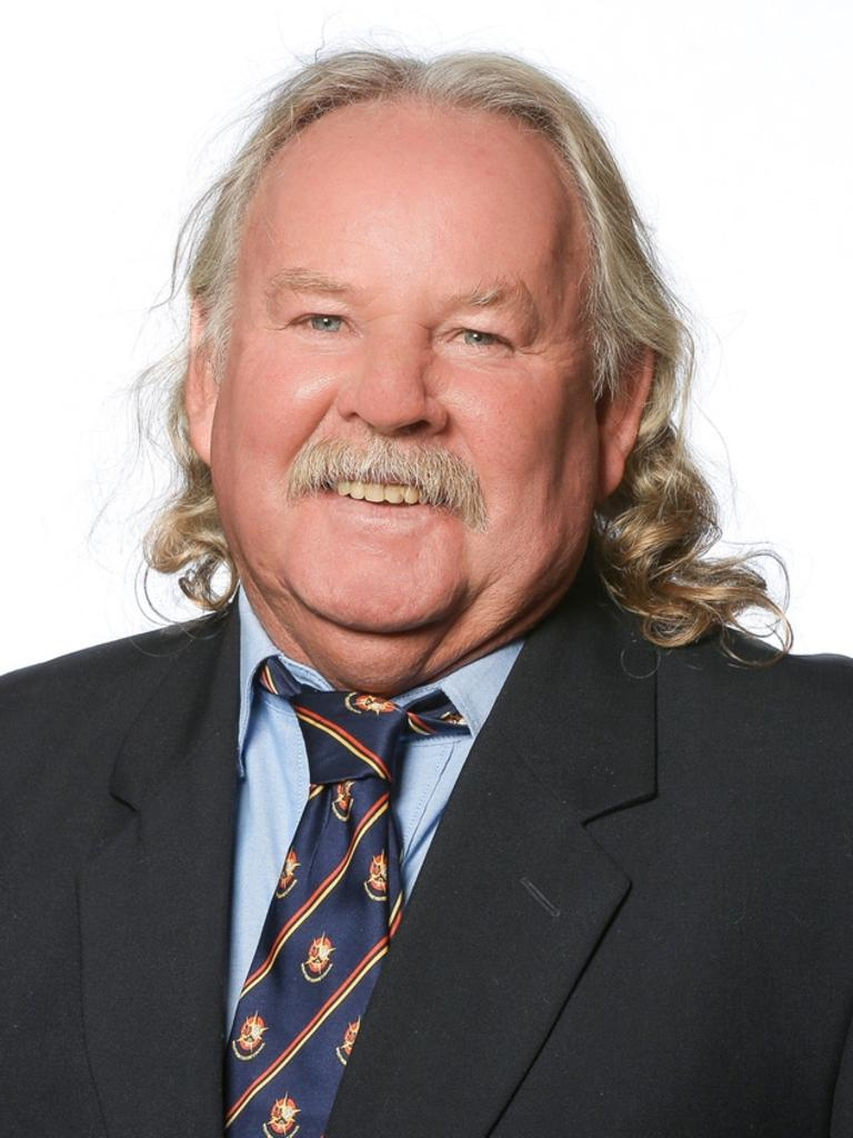 Paul Cohrs as a councillor in Wentworth shire in 2016.