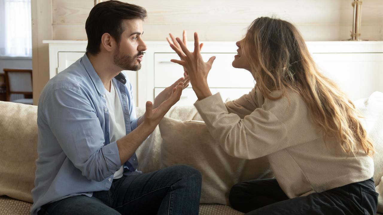 Anger and more arguing could also be a sign he is hiding something. Picture: iStock.