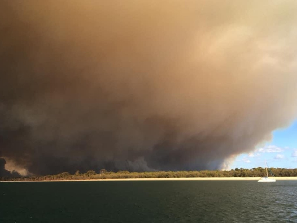 The fire has been burning since October. Picture: News Regional Media