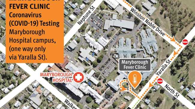 Fever clinic changes at Maryborough