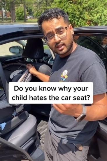 Car safety: Viral TikTok reveals common car seat mistake parents make