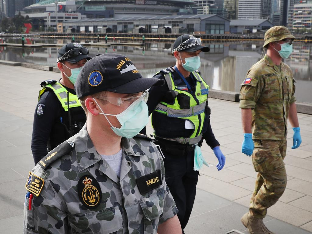 Victorians are just past halfway of a devastating stage 4 lockdown that has caused the city to grind to a halt. Picture: David Crosling/NCA NewsWire