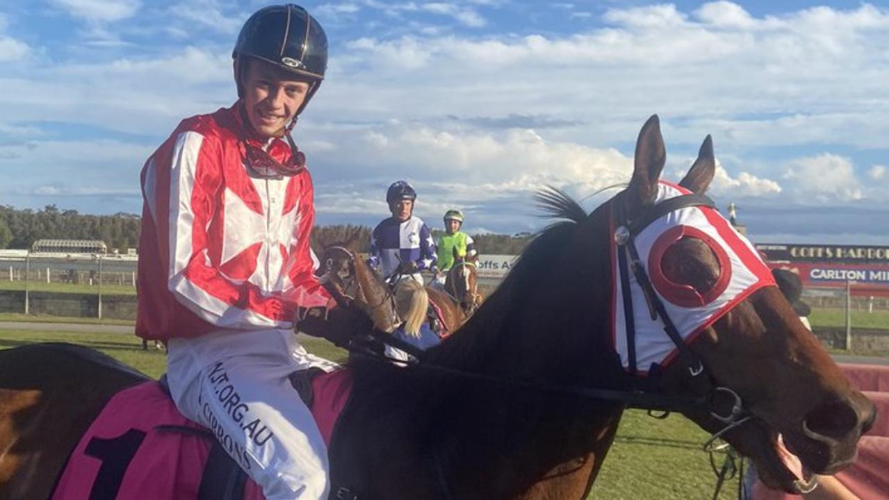 Jockey Dylan Gibbons will partner High Fever at Tamworth on Friday.