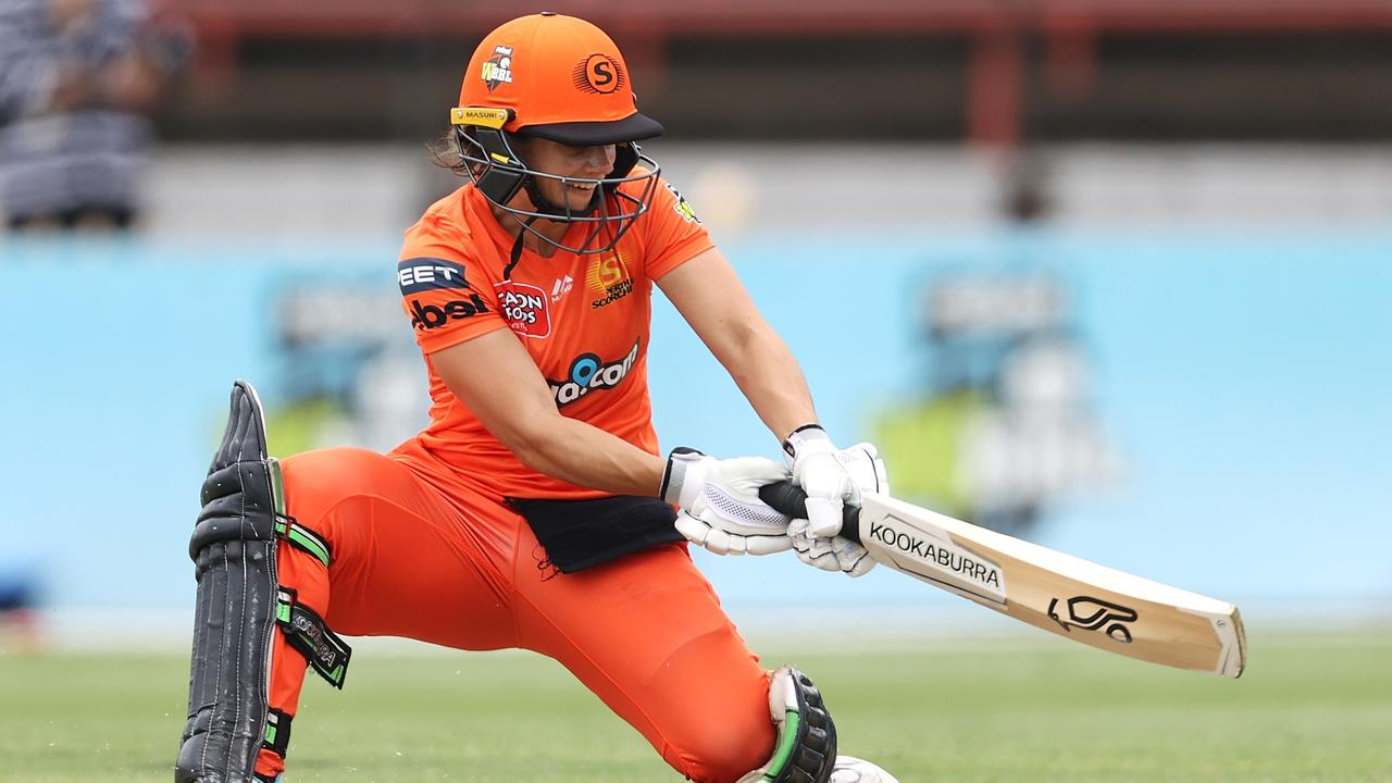 Scorchers batter Nicole Bolton in action against the Strikers. Picture: Cameron Spencer/Getty Images
