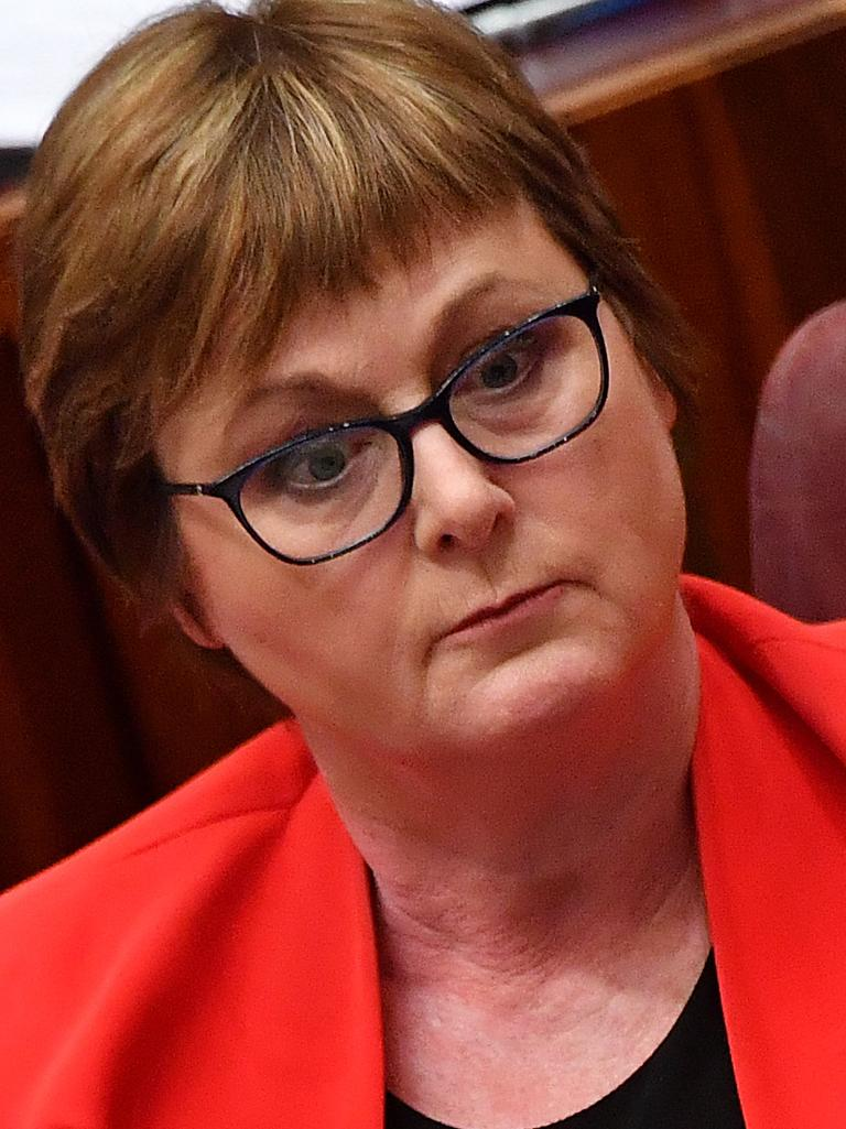 Ms Higgins allegation of rape allegedly took place in the Defence Minister Linda Reynolds' office. Picture: Sam Mooy/Getty Images.