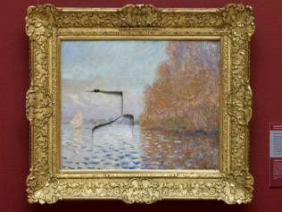 """2/9The $15 million Monet Of all the artists that might inspire a sense of rage, Claude Monet is probably not the first who leaps to mind. This was the value of his """"Argenteuil Basin With A Single Sailboat"""" in 2012 money when Andrew Shannon decided to punch on with it at the National Gallery of Ireland. He caused three rips which covered a quarter of the canvas. The painting is now behind security glass after an 18 month restoration."""