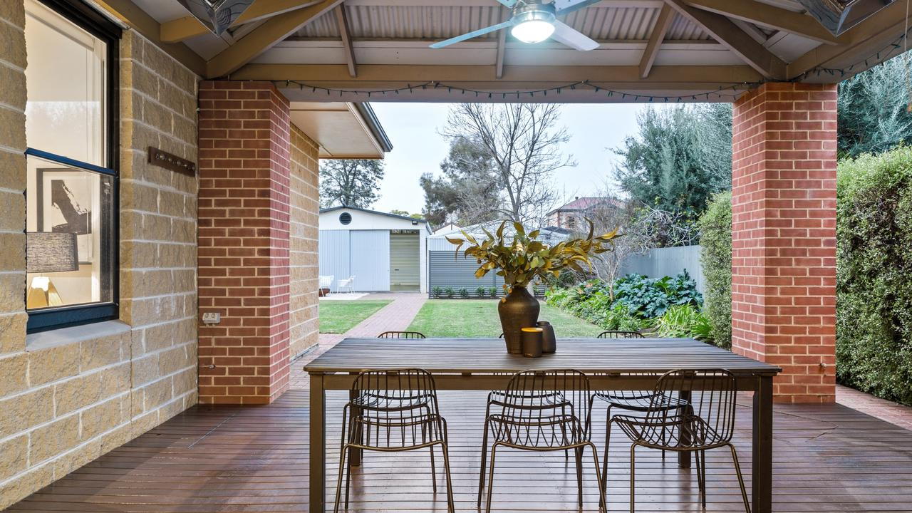 The sale also marks one of the highest recorded for a single house in Wayville, property records show. Pic: supplied.