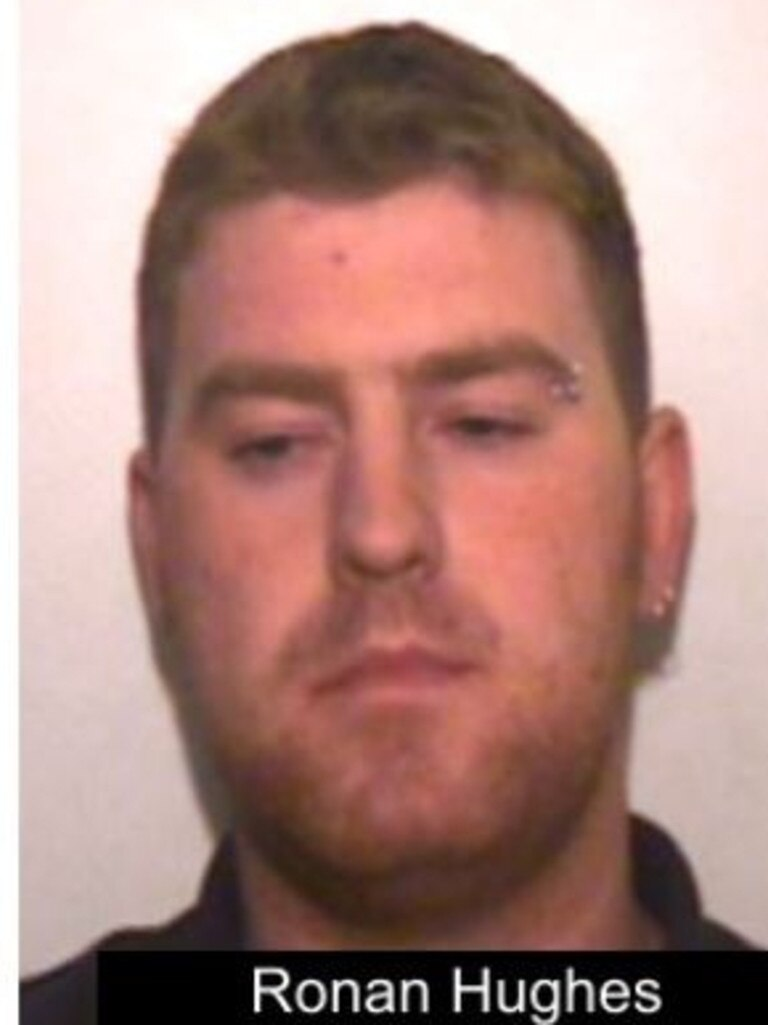 Ronan Hughes is also being sought.