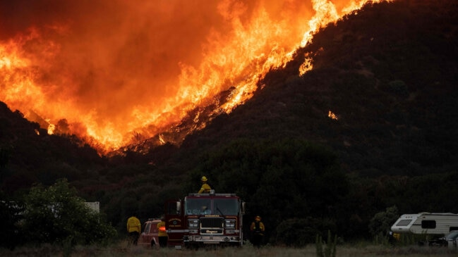 Thousands Evacuated as Wildfire Rages in Southern California
