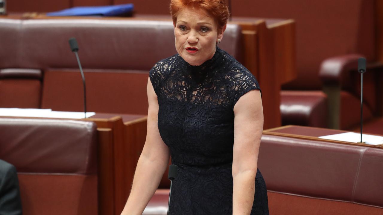 Senator Pauline Hanson. Picture: Kym Smith