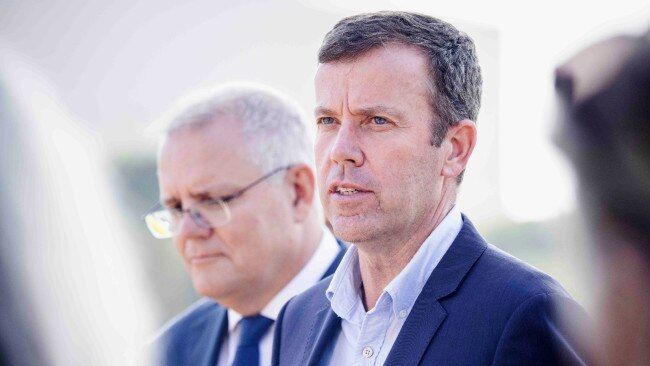 """Trade Minister Dan Tehan says Australia will """"robustly defend"""" the anti-dumping tariffs imposed on Chinese railway wheels, stainless-steel sinks and wind towers. Picture: NCA"""