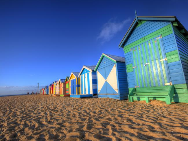 BRIGHTON BEACH                   With its colourful 1900s bathing boxes, Brighton Beach is one of the most iconic spots in the state. The gentle swell makes this beach perfect for families, as is nearby Holloway Beach. Fishing is also possible off the rocks and reefs.
