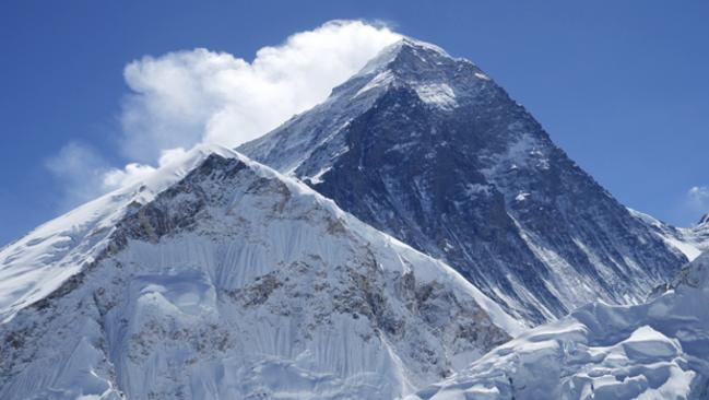 The big daddy: Mt Everest