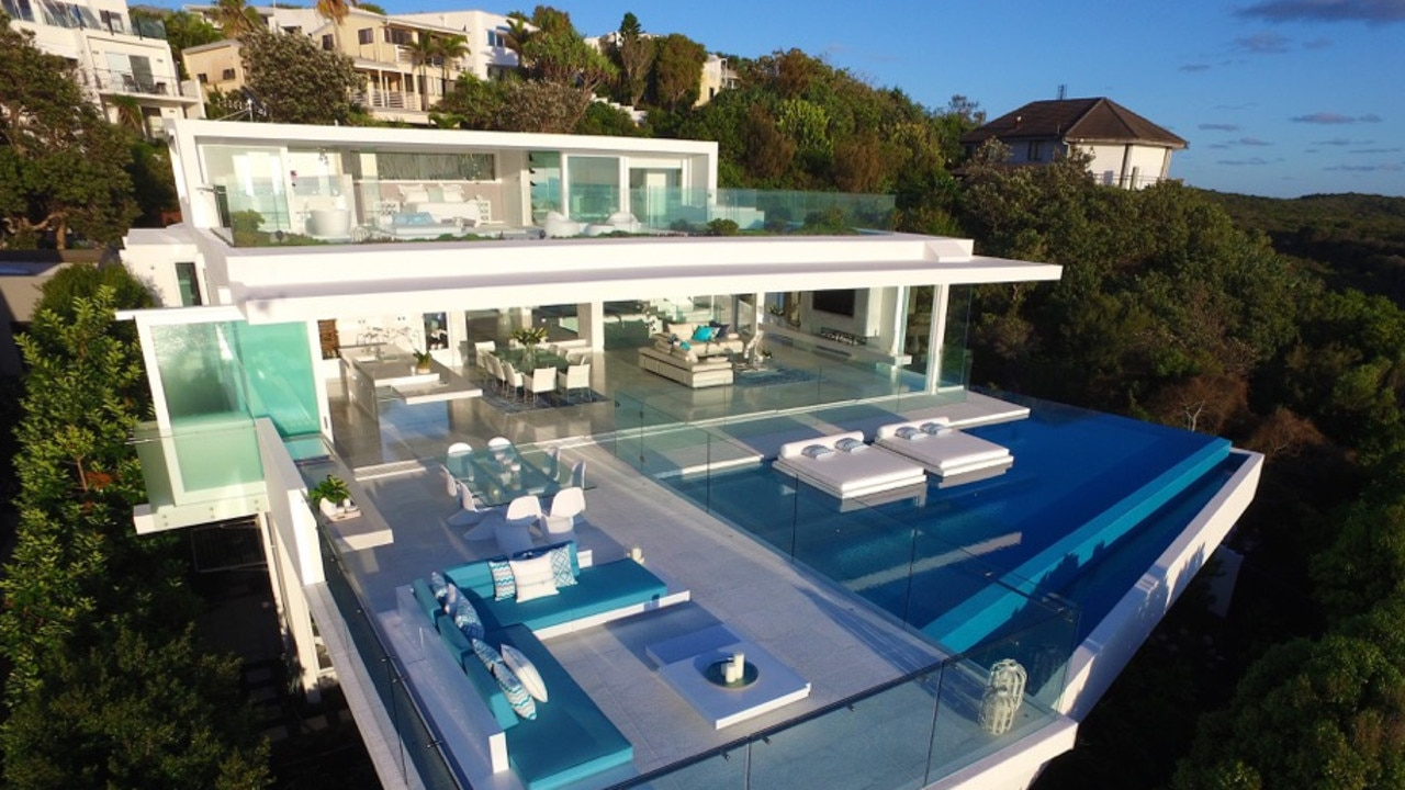 Azure at Sunshine Beach with its horizon pool and wet lounges is one of the homes accepted on the elite list.