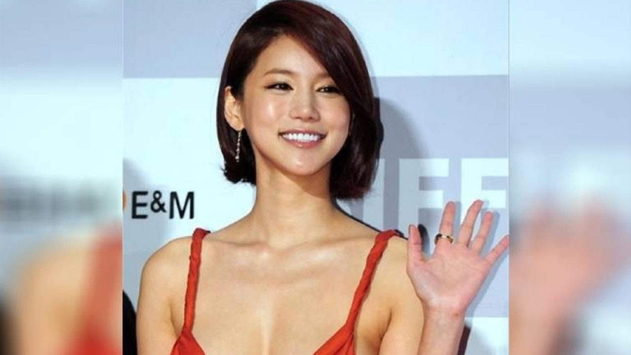 South Korean actress Oh In-hye. Picture: Twitter