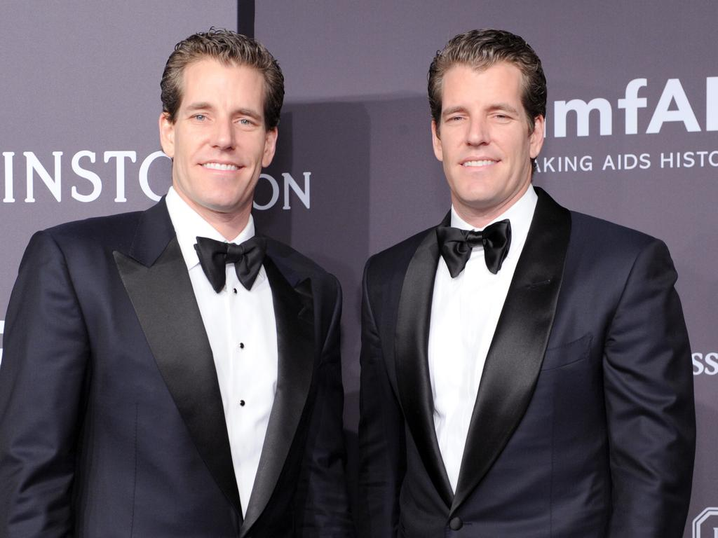 Cameron and Tyler Winklevoss are worth a combined $6 billion. (Photo by Craig Barritt/Getty Images for FIJI Water)
