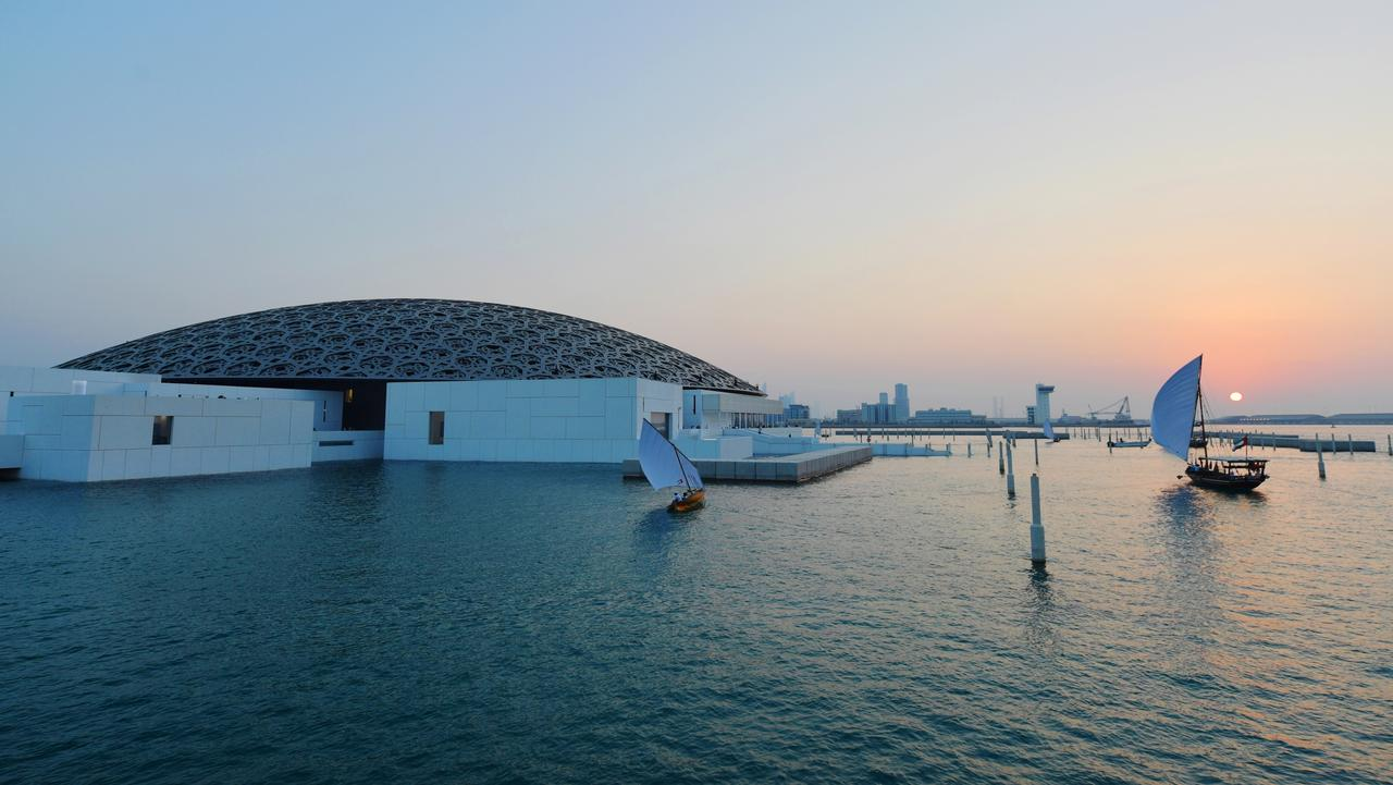 Louvre Abu Dhabi Museum Picture Afp