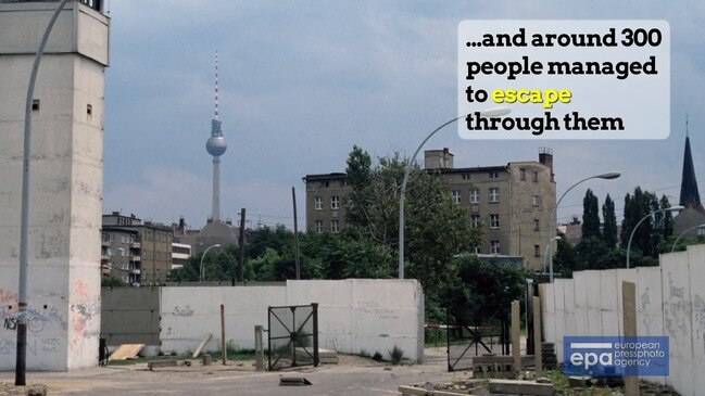 30 years on from the fall of the Berlin Wall