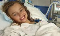 'Miracle girl' Milli Lucas's brain tumour is back