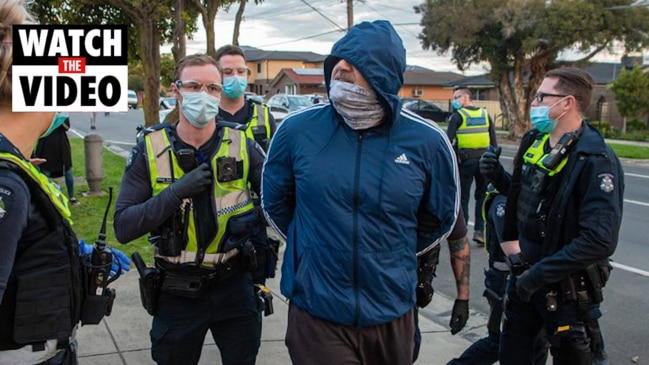 Victoria police warning to anti-lockdown protesters