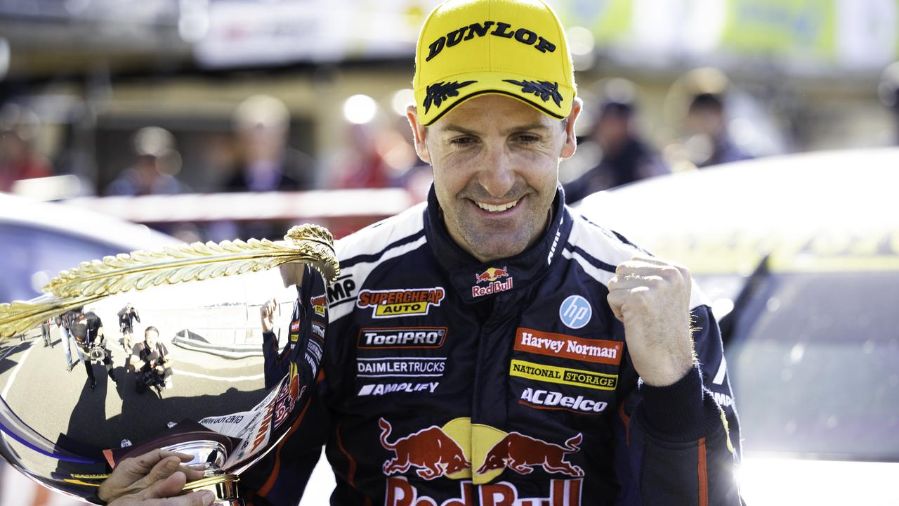 Whincup will retire to become Triple Eight team boss.