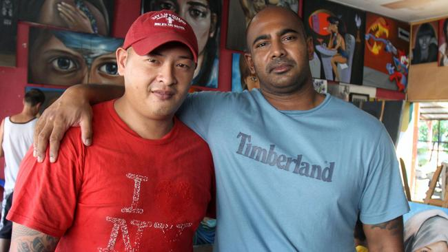 """Bali Nine ringleaders Andrew Chan and Myuran Sukumaran faced the firing squad singing """"10,000 Reasons (Bless the Lord)"""". Picture: News Corp"""