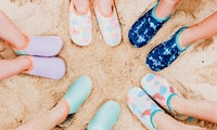 All of the best beach shoes for kids this summer