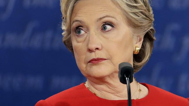 Yeah, that's the face she' would make. Pic: AP