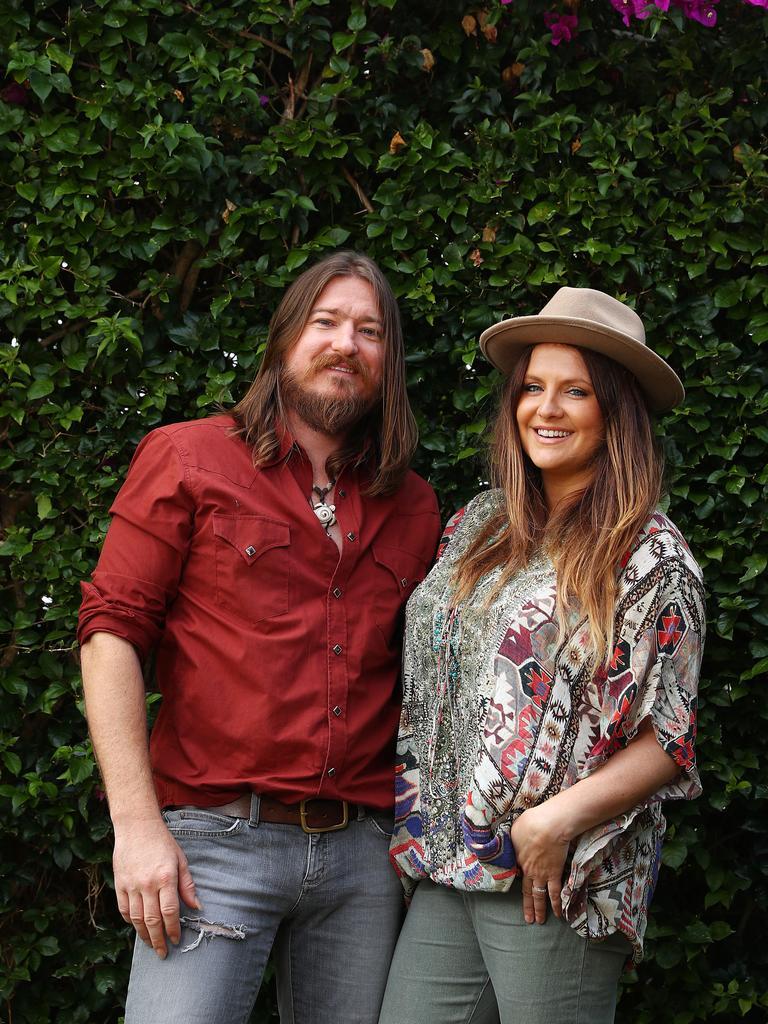 Brooke McClymont and Adam Eckersley.