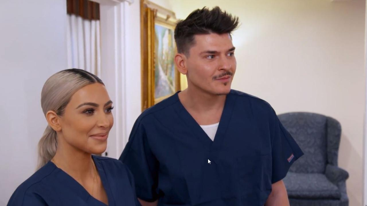 Kim and Mario can't wait to get busy!