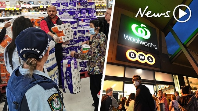 Coronavirus: Coles and Woolworths tighten social distancing rules