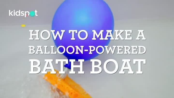 With just a few simple supplies, this easy little science activity will also yield you a fun toy for bathtime.