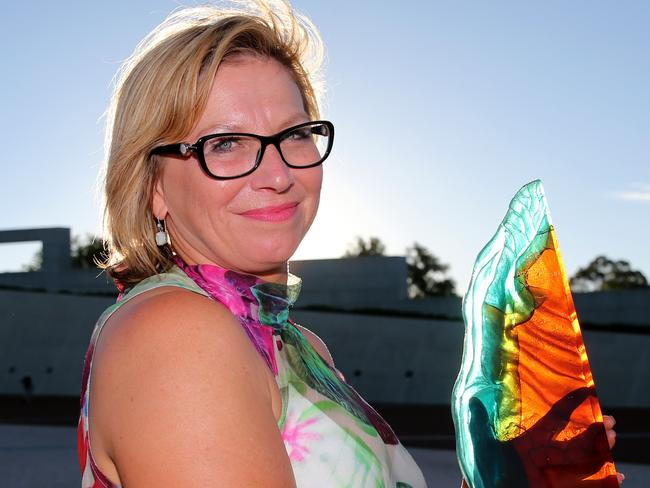 Brave ... Australian of the Year, Rosie Batty, turned the horrific murder of her son, Luke, by his father into a public discussion about domestic violence. Picture: News Corp Australia