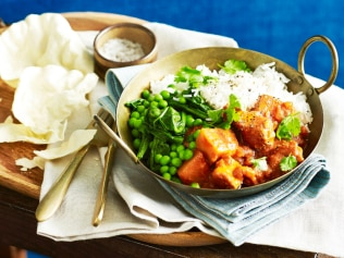 The ultimate 'fakeaway', this butter chicken is a healthy dupe. Image: Supplied / WW