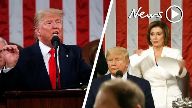 State of the Union 2020: Donald Trump delivers a rousing, divisive speech